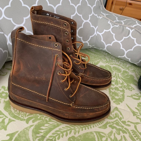 2aa4d9f9388b ... antique distressed leather boots. M 5c3b871ed6dc5217e987a022
